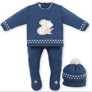 Three piece squirrel outfit